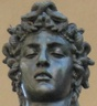 Medusa's head from Cellini's Perseus